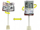 Rotary Information Stand (A4 / Letter ) manufacturer & Supplier
